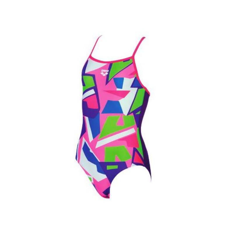 Arena costume intero piscina ragazza jumble mirtilla - Costume intero uomo piscina ...