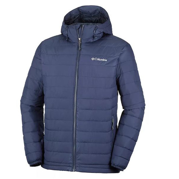 Columbia Piumino Powder Lite Blu