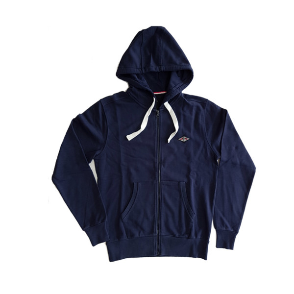 Bear Felpa Zip Marine Blue