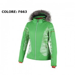 CMP Woman Ski Jacket Zip Hood
