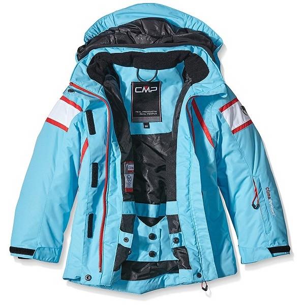 come trovare buona qualità godere del prezzo di liquidazione giacca neve bambina Cmp