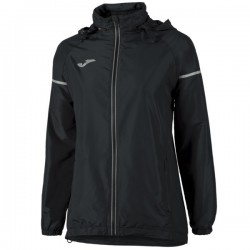 Joma Kway Rainjacket Race Donna Nero