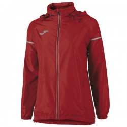 Joma Kway Rainjacket Race Donna Rosso