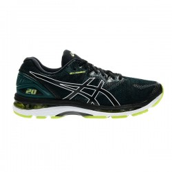 Asics Gel Nimbus 20 Black Neon Lime