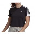 t shirt corta donna Adidas black