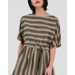 W'S Scully Stripe Dress Woolrich